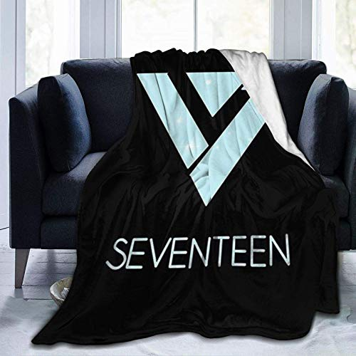 Seventeen - KPOP Super Soft Sheep Blanket, Suitable for Adults Or Children's Sofa Or Bed