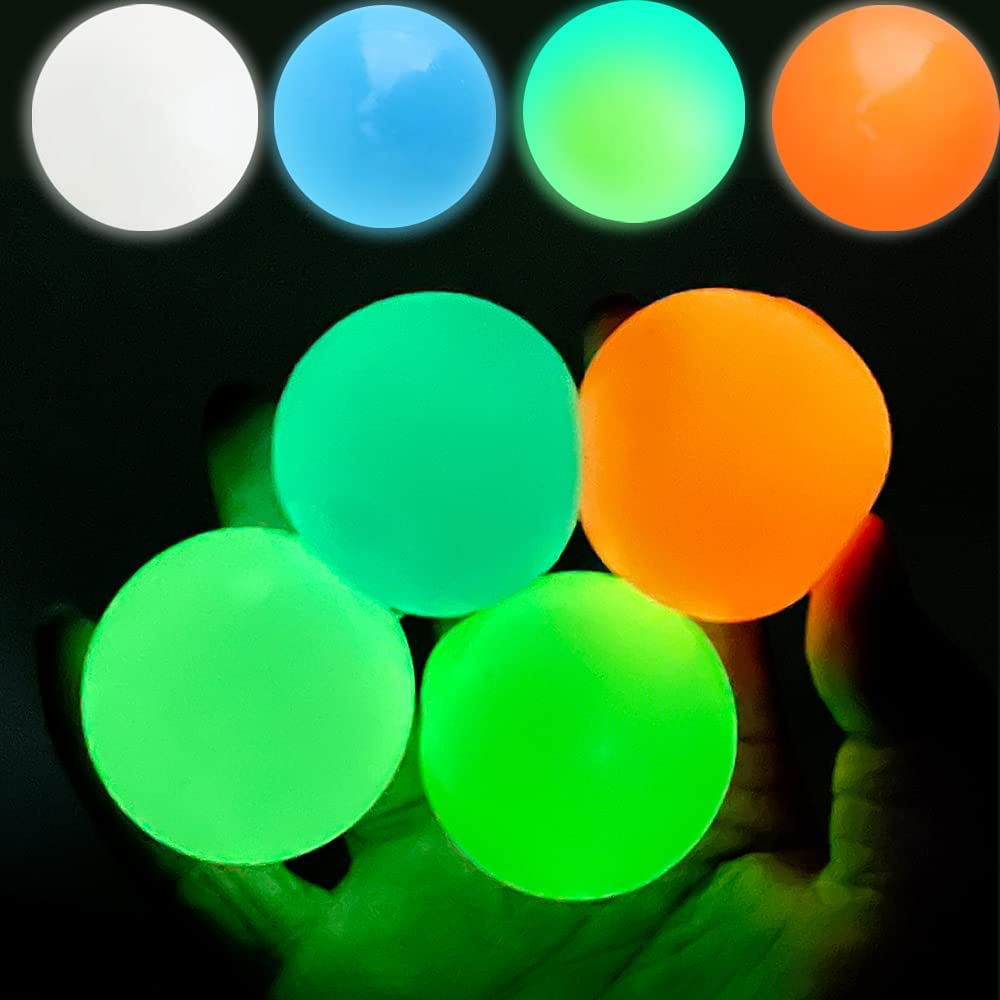 EXZ 4 8 Pcs A surprise price is realized Ceiling Balls Kids Glow Limited time for free shipping Adults and Stress for