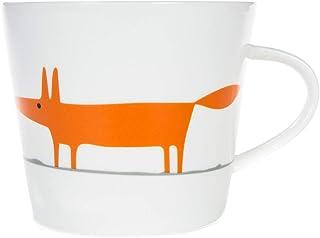 Scion SC-0259 Mr Fox standardowy kubek, 350 ml, ceramiczny i pomarańczowy, pomarańczowy i ceramiczny