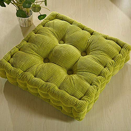 XHNXHN - Cojín de suelo suave para asiento de sofá, cuadrado, cojín grueso para respaldo interior, cojín de respaldo al aire libre, silla de jardín, elevador, cojín de asiento de sofá