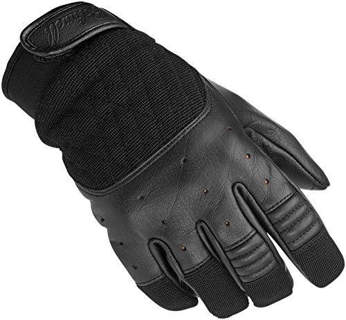 BILTWELL Motorcycles Leather Textile Gloves Bantam Black Medium Medium