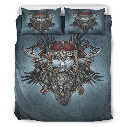 Tentenentent Set of 3 Bedspread Bedding Set Retro Pillowcases and Pillowcases - Comfortable Bohemia Bedspread White 264 x 229 cm