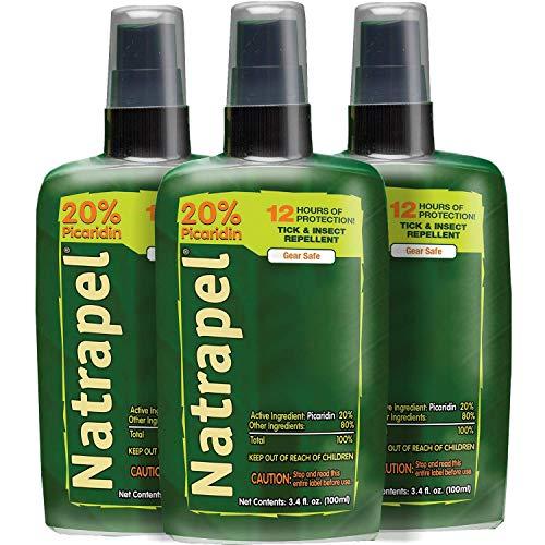 Natrapel Insect Repellent Pump, 3.4 oz (Pack of 3)