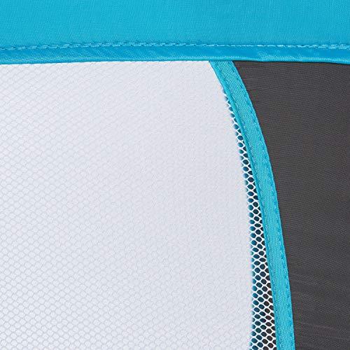 Hauck Kinderreisebett Dream N Play / inklusive Einlageboden und Tasche / 120 x 60cm / ab Geburt / tragbar und faltbar, Wasser (Blau) - 8