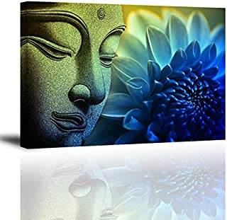 Best buddha painting with flowers Reviews