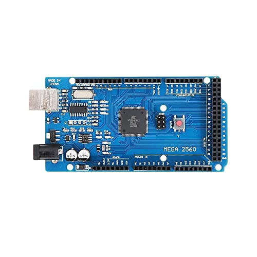 Development Board for Arduino - Mega2560 R3 ATMEGA2560-16 + CH340 Module Development Board Products That Work with Official Arduino Boards