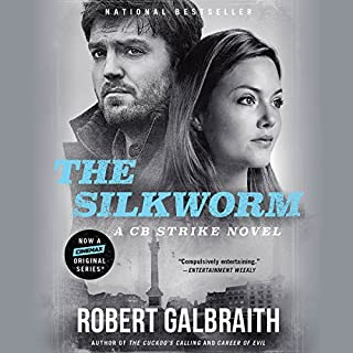 The Silkworm                   Written by:                                                                                                                                 Robert Galbraith                               Narrated by:                                                                                                                                 Robert Glenister                      Length: 17 hrs and 17 mins     120 ratings     Overall 4.7