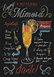 Mimosa, Retro Metal Sign/Plaque Man Cave Pub Bar Home Garage Shed