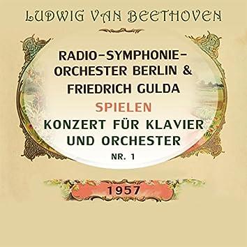 Radio-Symphonie-Orchester Berlin / Friedrich Gulda spielen: Ludwig van Beethoven: Konzert für Klavier und Orchester NR. 1