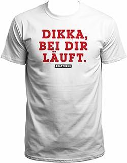 Kraftklub Dikka T-Shirt weiß
