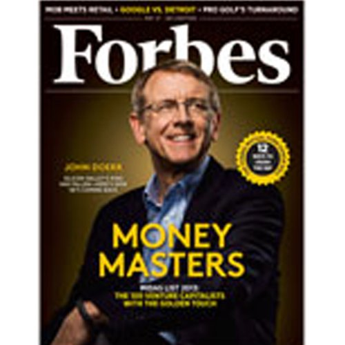 Forbes, May 13, 2013 cover art