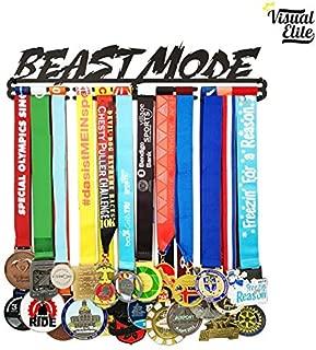 Visual Elite | Beast Mode (VE-786) | Medal Display Hanger | Hand-Forged Black Metal Hanger Design | The Medal Hangers Collection