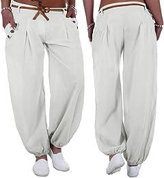 Femme Militaire Pantalon Femme Fluide Femmes Plus