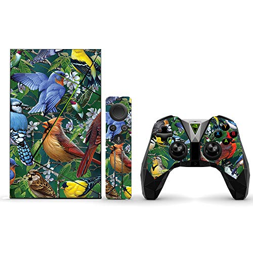 MightySkins Skin Compatible with NVIDIA Shield TV (2017) Pro - Backyard Gathering | Protective, Durable, and Unique Vinyl Decal wrap Cover | Easy to Apply, Remove, and Change Styles | Made in The USA