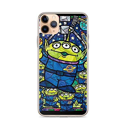 TEEMT Compatible with iPhone 11 Pro Max Case Aliens Fanart Toys Friends Story American Sci-fi Animated Movie Pure Clear Phone Cases Cover