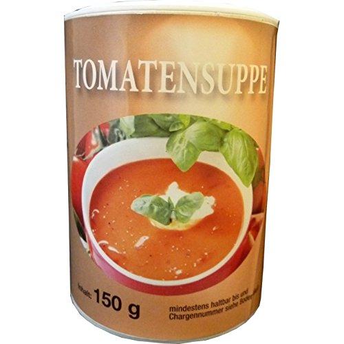 Biller Tomatensuppe Doppelpack Instant Diät Suppe Slim glutenfrei ohne Glutamat vegetarisch 2x 150g Dose