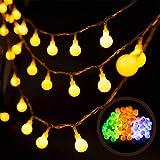 Cadena de Luces 100LED 10m 8 Modos Guirnalda Luminosas Exterior Interior Decorativa Impermeable , cadena Luces LED Para Jardin, Casas, Boda, Fiesta, Festival