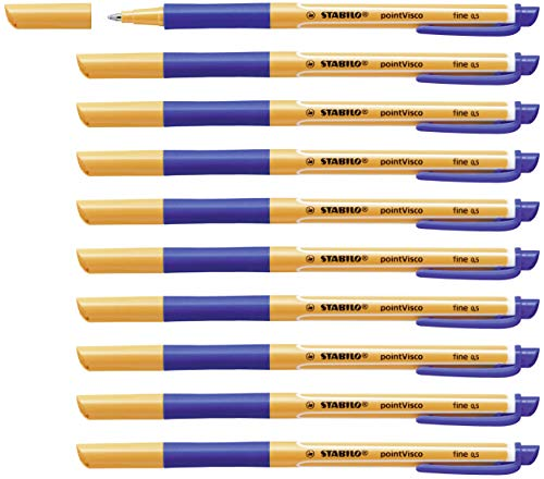 Tintenroller - STABILO pointVisco - 10er...
