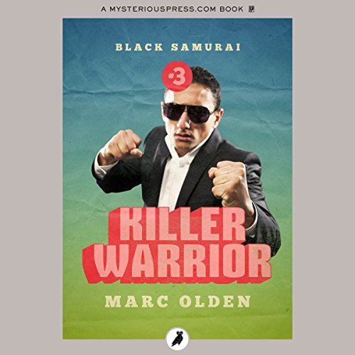 Killer Warrior audiobook cover art