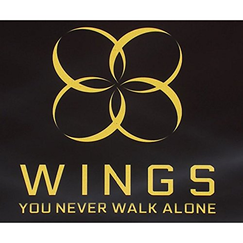 BTS Wings You never walk alone Kpop Bangtan Boys [Left Ver.] Album CD + Photobook + Photocard + Gift (4 Photocards Set)