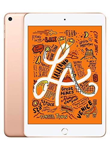 Apple iPad Mini, 5th Generation (Wi-Fi, 64GB) - Gold (Renewed)