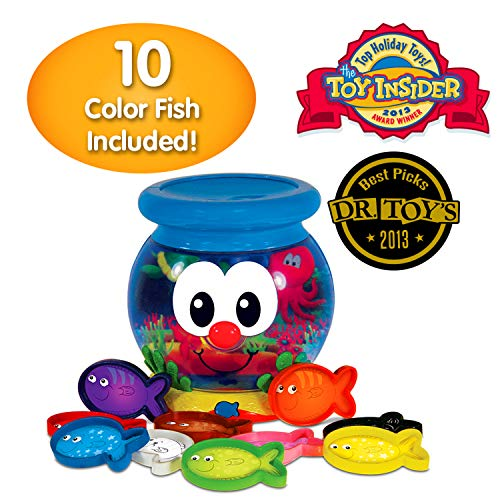 The Learning Journey Learn With Me – Color Fun Fish Bowl – Color Teaching Toddler Toys & Gifts for Boys & Girls Ages 2 Years and Up – Preschool Learning Toy