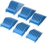 Skull Shaver Set of 6 Extra Long Cutting Guards for Beast Clipper