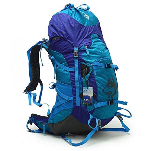 Outdoor sac d'épaule de loisirs sac à bandoulière unisexe imperméable sacs d'alpinisme 55L Voyage de sport sac à bandoulière