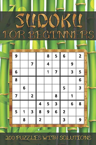 Sudoku for Beginners, 200 Puzzles with Solutions: Easy Level and Guide for Simple Resolution - Solutions at the Bottom of the Book - 80 pages.