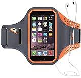 Haissky Brazalete Deportivo para Correr Brazalete Deportivo Armband con Llavero y Correa Ajustable para iPhone 11 Pro Max/11 Pro X/8 Plus y Otros teléfonos Inteligentes de Menos de 6.5'