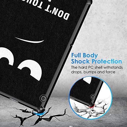 KATUMO Hülle Kompatibel mit Huawei Mediapad T5 10 - Ultra Slim Leder Tasche Hülle Skin für Huawei Mediapad T5 10 10.1 Zoll (2018) Schutzhülle Smart Case Cover mit Standfunktion