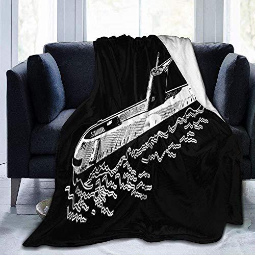 HDAXIA Kuscheldecke Decke,U-Boot-Simulator Zeichnungsdruck Gemütliche Ultraweiche Flanell-Leichte Schlafsofa-Decke Für Erwachsene/Kinder, Geeignet Für Alle Jahreszeiten 50