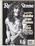 ROLLING STONE MAGAZINE - SPECIAL COMMEMORATIVE ISSUE 2020 - THE 100 GREATEST GUITARITS OF ALL TIME- EDDIE VAN HALEN (COVER)