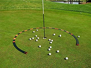 Resource Academy Golf Target Circle - 6 ft Circle as Golf Training Aid - Ideal for Chipping and Pitching - Super Thin with Multiple Configurations