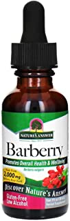 Nature's Answer Barberry Root with Organic Low Alcohol, 1-Fluid Ounce | Promotes Immune Function | Supports Digestive Health