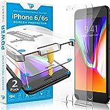 Power Theory Panzerglas kompatibel mit iPhone 6s/iPhone 6 [2 Stück] - Schutzfolie mit Schablone,...
