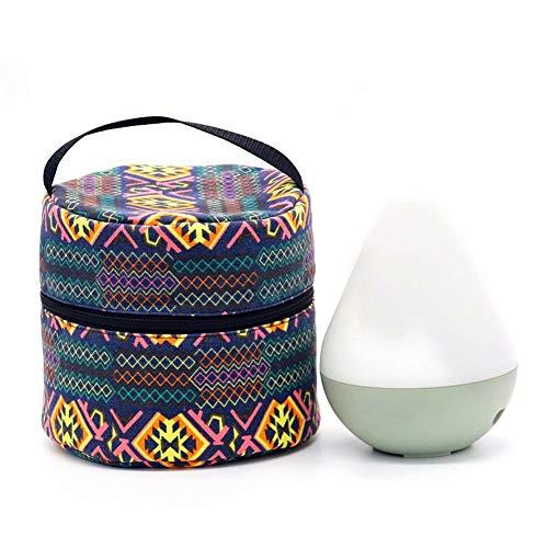 Rubyu Öle Tasche, ätherisches öl Tasche Bedruckte Multifunktions Aufbewahrungstasche Aufbewahrung Tasche, Nagellack Box, Aufbewahrung für Aromatherapie-Maschine