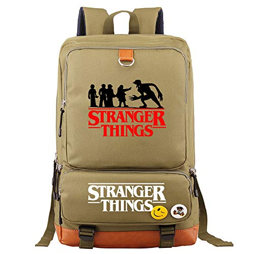 Stranger Things School Backpack for Kids Teenager Large Capacity Stranger Things Alphabet School Bag Men Travel Rucksacks Laptop Backpack Book Bags Daypacks Stranger Things Merchandise (30)