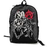 Sons Of Anarchy - Mochila antirrobo para ordenador portátil, mochila de viaje de negocios, resistente al agua, para colegio, escuela, para mujeres y hombres