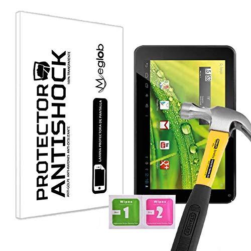 Protector de Pantalla Anti-Shock Anti-Golpe Anti-arañazos Compatible con Tablet Infiniton INTAB-740