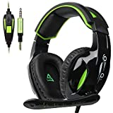 supsoo Xbox one PS4 Gaming Headset with 3.5mm Wired Over-Ear for PC/PS4/New Xbox one/Mac/Nintendo/Phone-G813