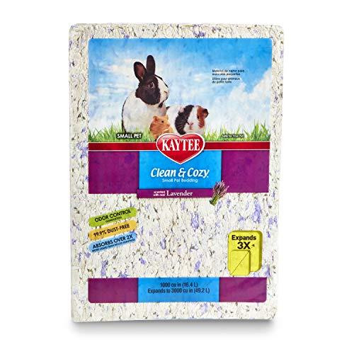 Kaytee Clean & Cozy Bedding, Lavender, 49.2 Liters (Pack of 1)