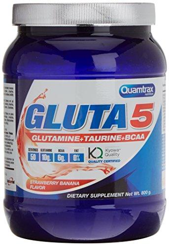 Quamtrax Nutrition Supplemento Nutrizionale Gluta5 Fragola/Banana - 800 gr