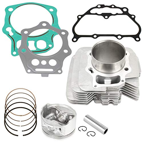 Caltric compatible with Cylinder Piston Ring Gasket Kit Honda Trx500Fm Foreman 500 4X4 S 2005-2011