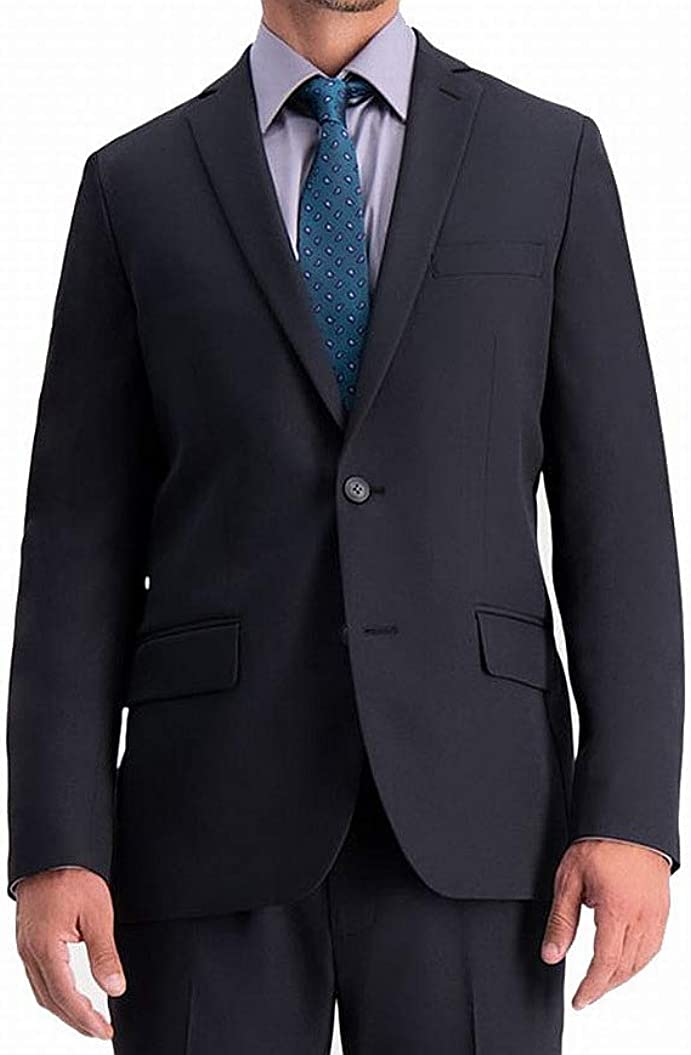 Haggar 2021new shipping free shipping Men's Active Series Courier shipping free Stretch Slim Suit Fit Separates â€Â