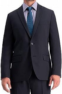 معطف Haggar رجالي Active Series قابل للتمدد مقاس نحيف ومعطف منفصل