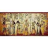 DIY 5D Diamond Painting Kits para Adultos,Egyptian Pharaoh 30X60cm 12x24in Pintura Diamante grande completo Cristal Rhinestone Bordado Punto de Cruz Mosaico Lienzo Art Crafts Home Wall Decor Gifts