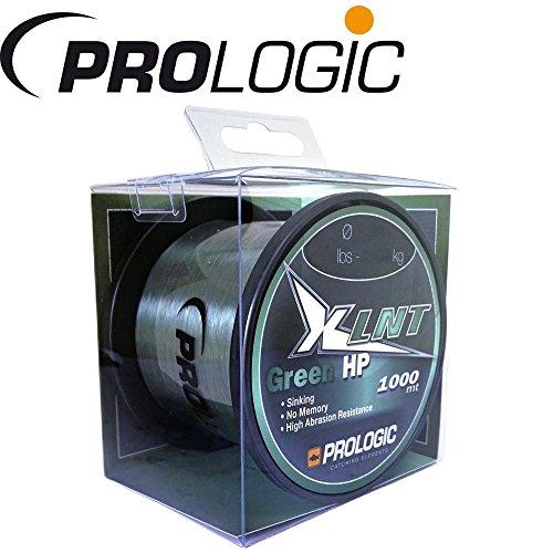 Prologic XLNT HP Moss Green 1000m grün - Karpfenschnur zum Karpfenangeln, Angelschnur zum Angeln auf Karpfen, Monofile Schnur, Durchmesser/Tragkraft:0.40mm / 24lbs / 11.0kg Tragkraft