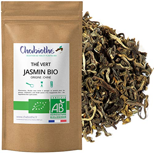 Té verde al Jazmín BIO 200g - orgánico bolsa biodegradable