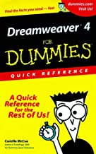 Dreamweaver 4 for Dummies Quick Reference
